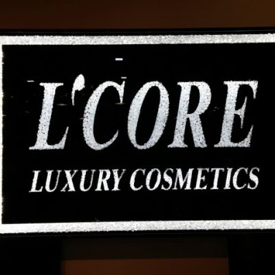 https://www.lcoreparis.com/about/ L'Core Paris LOGO in the store